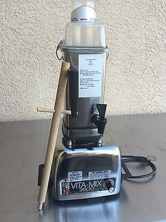 reserved vintage vitamix 3600 stainless steel blender with signed rh pinterest co uk vitamix 3600 manual users vitamix 3600 maanual