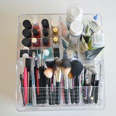 Ikea Godmorgon makeup and skincare acrylic storage box