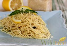 Lemon-Basil Spaghetti - Wildtree Recipes.  This is my recipe I created with using my Wildtree products.