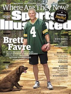 Publication Date: July July 2015 Sports Illustrated CoverWhere Are They Now: Portrait of former Green Bay Packers QB Brett Favre wi. Si Cover, Jose Canseco, Packers Football, Football Season, Packers Baby, Football Memes, Football Players, Sports Illustrated Covers, Award Winning Photography