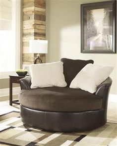 Victory Contemporary Chocolate PU Faux Leather Living Room Set