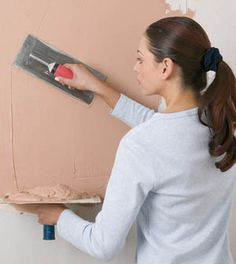 Home Remodeling: Fast and Easy Apply Plaster to Walls Finishes