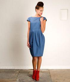 sewing pattern dress tanja: downloadable sewing pattern pdf