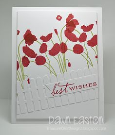 Best Wishes by TreasureOiler - Cards and Paper Crafts at Splitcoaststampers