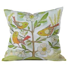 Cori Dantini Community Tree Pillow