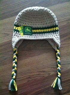 Crochet John Deere Baby Hat by gammyshouse on Etsy