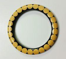 Amazing Vtg Bakelite Bow tie Gumdrop polka dot bracelet, see pics