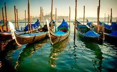 Wallpaper channel, boat, gondola, Italy, water, Venice