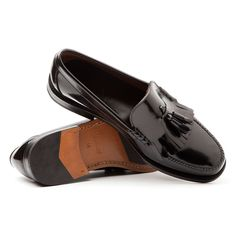 GINSBERG Fringe Tassel Loafer @beatnikshoes - Handmade in Spain - Worldwide Home delivery by UPS. € 179,99