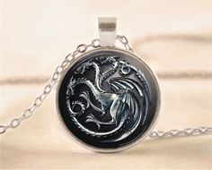 Game Of Thrones Necklace Game of Thrones Jewelry  by EgginEgg, $12.90