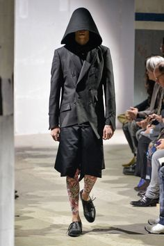 59503dd8b675 Comme des Garçons Fall 2015 Menswear Fashion Show
