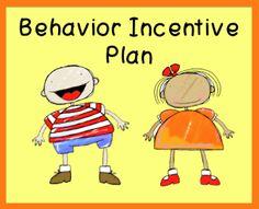 FREE Behavior incentive printables