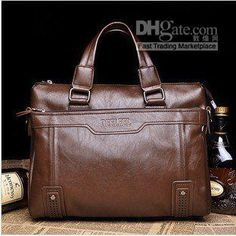 Wholesale NEW ARRIVAL owhide leather men's bags business briefcase computer bags, Free shipping, $46.31-61.94/Piece | DHgate