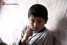 """Azad, 11, is one of 40,000 refugees in Iraq who have fled the fighting in Syria. Today, Save the Children announced that the number of Syrian children who have fled has reached 1 million.  """"It is appalling that the world has stood and watched as one million children have been forced from their country, terrified, traumatized and in some cases orphaned."""" - Carolyn Miles, President & CEO of Save the Children."""