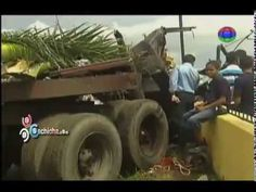 Dos heridos graves en accidente de una patana #Video - Cachicha.com