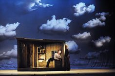 L'elisir d'amore from Festspielhaus Baden-Baden. Directed by Rolando Villazón. Sets and costumes by Johannes Leiacker.