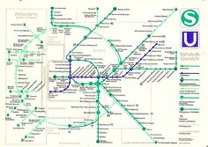 East Berlin railway map, 1980s