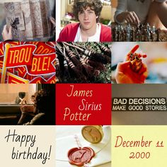 Harry Potter the Next Generation (Birthday): James Sirius Potter • December 11, 2000 • Gryffindor • Aaron Taylor-Johnson