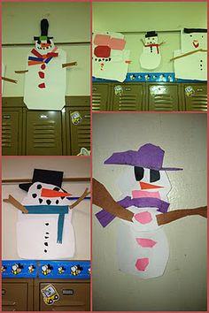 Happy snow people!!