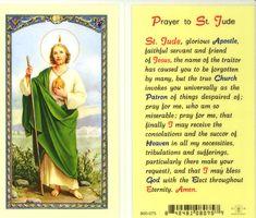 prayer to st jude - Google Search