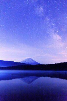 Mt. Fuji, Japan: photo by Kenichi Hayami