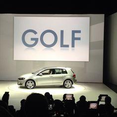 Golf 7 Reveal   New York International Auto Show