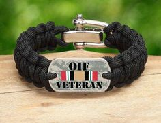 We are fired up to add Operation Iraqi Freedom Veterans Survival Straps® gear to our Military/Patriotic collection. This gear is made in America from military spec paracord and a portion of all our proceeds supports the Wounded Warrior Project. We are so thankful for all our military veterans and hope those who served in the sand box like this new addition.