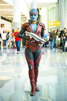 Mass Effect Cosplay @Wondercon