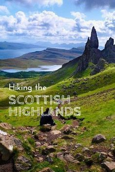 A guide to hiking in the Scottish Highlands with recommended routes and equipment . - A guide to hiking in the Scottish Highlands with route and equipment recommendations - Oh The Places You'll Go, Places To Travel, Travel Destinations, Holiday Destinations, Outlander, Scotland Travel, Scotland Trip, Hiking In Scotland, Skye Scotland