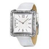 Morellato Ladies Watch Analogue Quartz, Diamond Accent White Dial, White Strap