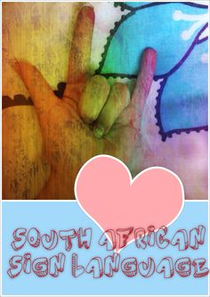 SOUTH AFRICAN SIGN LANGUAGE Sign Language, African, Signs, Shop Signs, Sign, Sign Language Art, Dishes