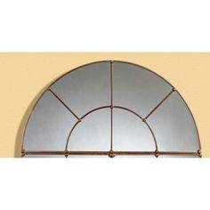Bassett Mirror Company Half Moon Wall Mirror BM-M2536 $260.00