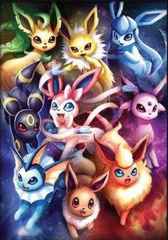 Pokemon – Eeveelutions Poster Print – Spie… - Anime and Manga World 2020 Pokemon Poster, Pokemon Film, Pokemon Toy, Pokemon Cards, Creepy Pokemon, Cool Pokemon Wallpapers, Cute Pokemon Wallpaper, Gaming Wallpapers, Pikachu Art