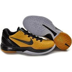 43b703418329 Air Foamposite Nike Zoom Kobe 6 Del Sol Lightbulb Black Tour Yellow White  Nike  Zoom Kobe 6 - Accented mostly by black