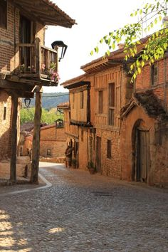 Calatañazor - Soria, Spain - Motocycle Tutorial and Ideas Places Around The World, The Places Youll Go, Travel Around The World, Places To See, Around The Worlds, Wonderful Places, Beautiful Places, Medieval Village, Beautiful Sites