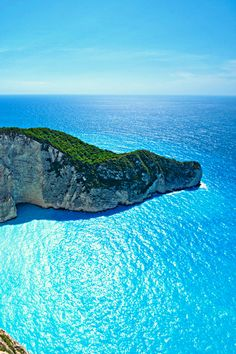 The Ocean Blue, Navagio Bay, Greece. Going to Greece next year. And this picture says why....