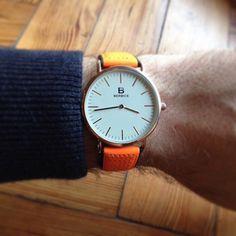 (209) Fancy - Orange Fluro Watch by Berbice