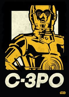 Star Wars C-3PO metal poster - PosterPlate posters made out of metal
