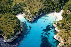 Cala Macarella & Cala Macarelleta. Menorca. Illes Balears (Spain)