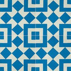 Fez 928 A is an in stock 8x8 deco cement tile from Echo Collection.