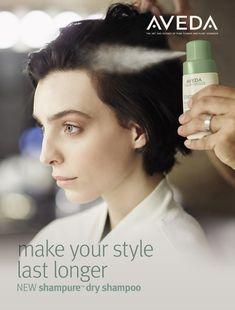 Aveda's NEW Shampure Dry Shampoo available this October!