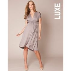 #Robe de #grossesse multi-look marron glacé #Seraphine #maternité: http://www.seraphine.fr/robe-multi-look-marron-glace.html