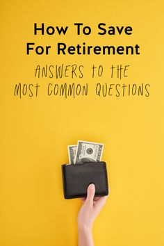 Are you thinking about your future? While retirement might feel like a like ways out, the sooner you start saving, the faster your money will grow! We'll share some tips to help you start saving for your retirement! Retirement Books, Retirement Accounts, Saving For Retirement, Early Retirement, Retirement Planning, Take Money, Ways To Save Money, Money Tips, Money Saving Tips