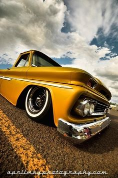 Vintage Chevy Gold