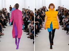 Mood board: As with quite a few Parisian shows, Balenciaga showed eye-popping combinations of primary colours – and each one of their blends – in combinations that were unexpected and bold. Demna Gvasalia upped the ante by making the garments swathe th...