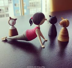 © platinumskys - 3D Quilled People (Searched by Châu Khang)