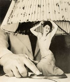 """The Dream Life of Grete Stern:    """"Grete Stern was born in Germany to a Jewish family, and in Weimar Berlin, she and Ellen Auerbach had a photography studio called ringl + pit that specialized in advertising. She emigrated to Buenos Aires in 1935. From 1948 to 1950, Stern was hired by a womens' magazine to """"illustrate"""" the dreams that readers of the magazine (mostly Argentine housewives) submitted. She made 150 photomontages, called Suenos (dreams), that comprise perhaps the most brilliant a"""