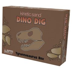 Kinetic Sand Dino Dig Tyrannosaurus Rex and thousands more of the very best toys at Fat Brain Toys. Mix up the realistic T-Rex bones and set them at the bottom of a big container. Drop in the Kinetic Sand, pack it down strong,. Dinosaur Gifts, Dinosaur Toys, Dinosaurs, Presents For Kids, Kids Gifts, Jurassic Park Toys, 4 Year Old Boy, I Love My Son, Mobile Shop