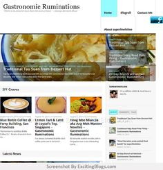 Gastronomic Ruminations - A Singapore-based & caffeine-addicted food passionista keeping her tasty memories in a food blog. - Click to visit site:  http://1.33x.us/IiFAZA