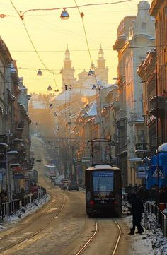 Winter Lviv, W Ukraine, from Iryna with love
